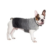 PetsPyjamas - Luxury Grey Mohair Dog Coat
