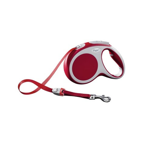 VARIO Medium Retractable Lead 5m - Red