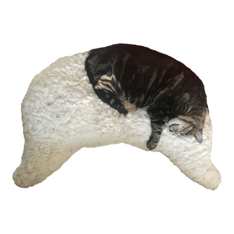 Joy Wings Pet Pillow - Snow Leopard 2