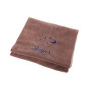 PetsPyjamas - Personalised Brown Snooze Pet Blanket - Italic Font