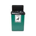 Dog Waste Bin – Green 3