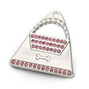 Hamish McBeth - Silver Handbag Tag