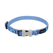 Red Dingo - Circadelic Dog Collar - Blue