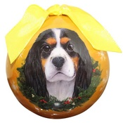 NFP - Tri-Colour King Charles Spaniel Christmas Bauble