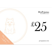PetsPyjamas - £25 Travel Gift Voucher by Email