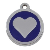 Tagiffany - My Sweetie Blue Heart Pet ID Tag