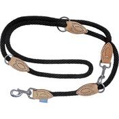 Hem & Boo - Black Soft Touch Training Dog Lead