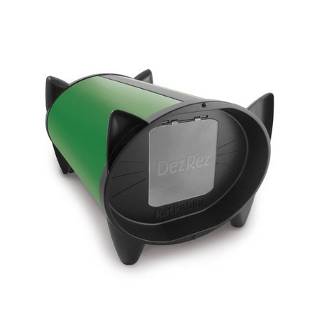 DezRez Outdoor Cat House - Garden Green