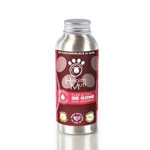 Be Gone Organic Natural Dog Flea Shampoo 250ml (x2)