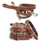 Mutts & Hounds - Balmoral Collar and Lead Set