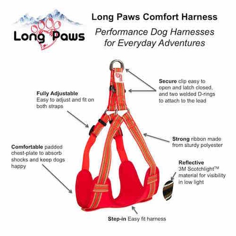 Comfort Dog Harness – Orange 3