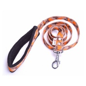 El Perro - Fleece Comfort Dog Lead – Orange Camo