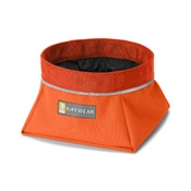 Ruffwear - Quencher Travel Bowl - Pumpkin Orange