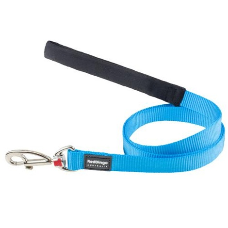 Plain Turquoise Dog Lead