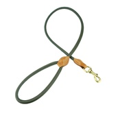 Clementine est. Dogs - Spencer Tubular Dog Lead – Green