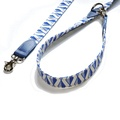 Blue Geo Cafe Dog Lead