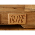 Personalised Rustic Wooden Dog Bed 3