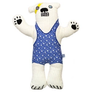 Haystacks the Polar Bear - Blue