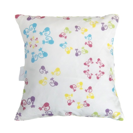 Colourful Cats Cushion Cover