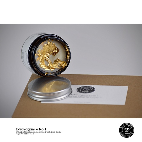 Extravagance no.1 Pure Gold and Shea Butter Balm 2