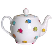 Laura Lee Designs - Sheep Print Two Cup Tea Pot