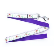 "Pet Pooch Boutique - Cowboys & Horses Dog Lead 1"" Width"