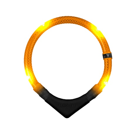 Premium Leuchtie LED Collar - Orange