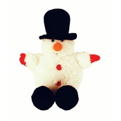 Happy Pet - Festive Ball Buddy Dog Toy – Snowman