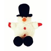 Happy Pet - Festive Ball Buddy Dog Toy – Snowman
