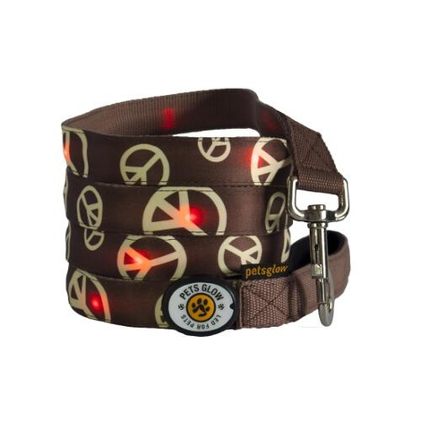Peace LED Dog Lead
