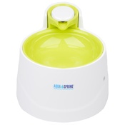 PJ Pet Products - AquaSpring Illuminated Pet Water Fountain - Green