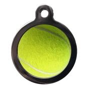 PS Pet Tags - Tennis Ball Pet ID Tag