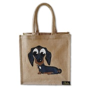 Poochini Pets - Midi Dachshund Bag - Natural