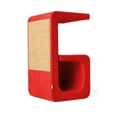 Catworks - Scratching Post - Letter G - Red