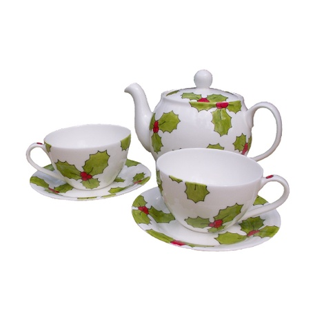 Holly & Berry Tea Set