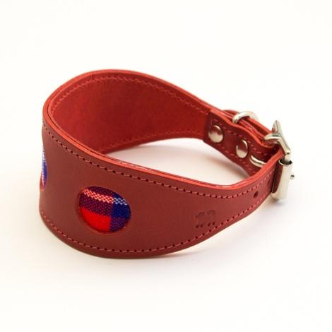 Shuka Red Hound Collar 2