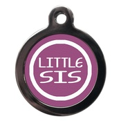 PS Pet Tags - Little Sis Pet ID Tag