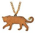Enamel Leopard Necklace