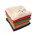 Personalised Cream Snooze Pet Blanket - Classic font