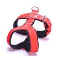 2.5cm Width Fleece Comfort Dog Harness – Red