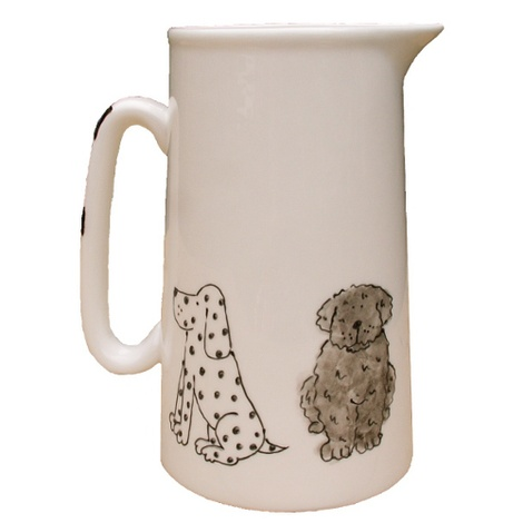 Dogs Farmhouse Jug