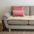 Wool Sofa Topper - Ecru