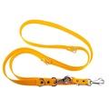 Adjustable Juicy Style Dog Lead - Yellow