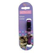 Hem & Boo - Snag & Snap-Free Kitten Collar - Purple
