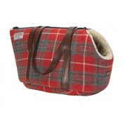 LoveMyDog - Hoxton Tartan Harris Tweed Pet Carrier