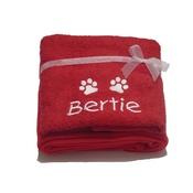 My Posh Paws - Personalised Santa Paws Gift Set – Red