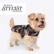 PetsPyjamas - Personalised Green Camo Dog Coat