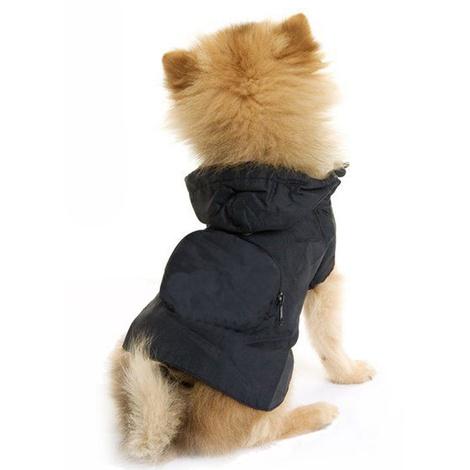 Dog Pac a Mac - Black  2