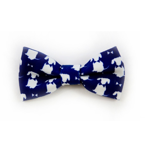 Teddy Maximus Navy Dog Bow Tie
