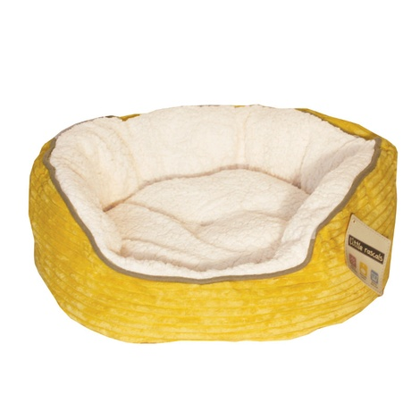 Little Rascals Sweet Dreams Donut Bed - Yellow